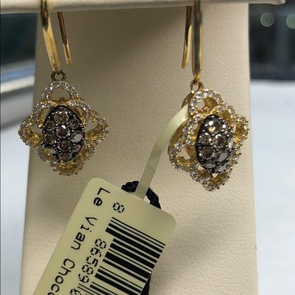 7aaa7ea0c7a47 Le Vian Chocolate Diamond Earrings Boutique